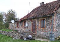 Mazurski dom z kamienia