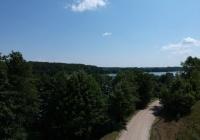 Teren nad jeziorem Mazury okolice Mikołajek