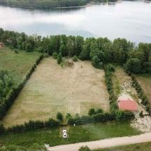 Działka nad jeziorem Harsz