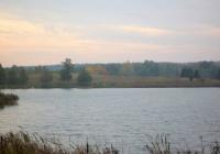 Działka nad jeziorem własna linia brzegowa